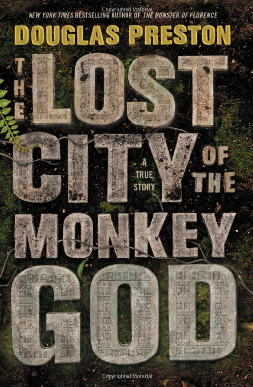 Book Cover - The Lost City of the Monkey God