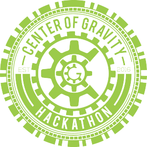 Center of Gravity Hackathon logo