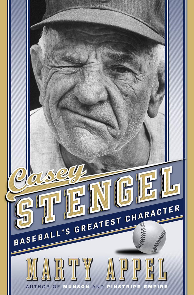 Book Cover - Casey Stengel: Baseball's Greatest Character