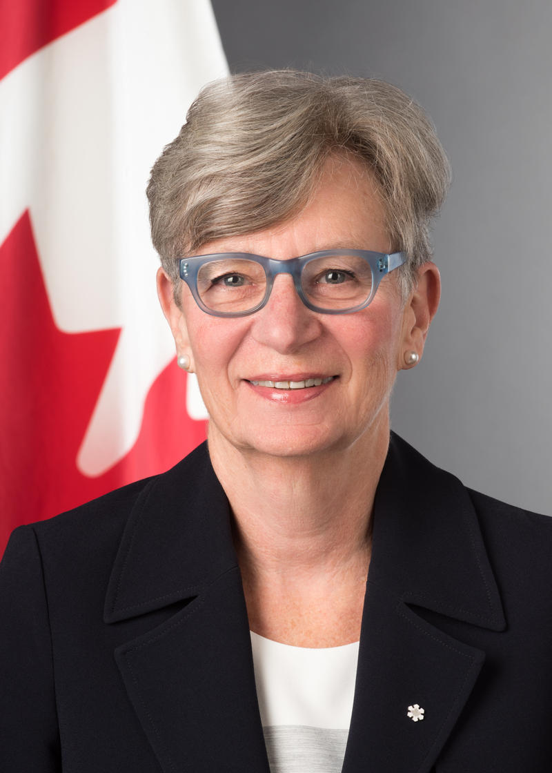 Consul General of Canada in New York Phyllis Yaffe