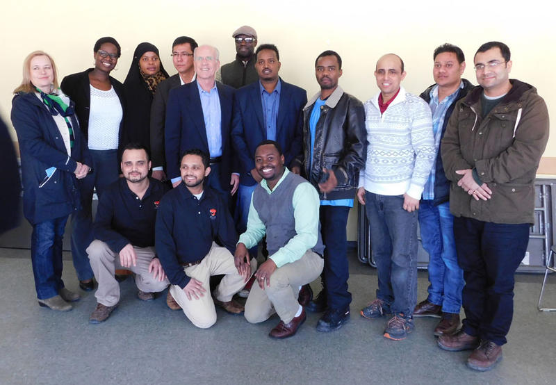Congressman Peter Welch meets with immigrant and refugee community