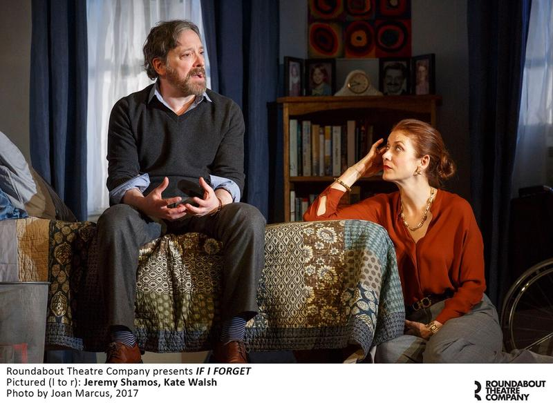 Jeremy Shamos and Kate Walsh in RTC's 'If I Forget' at The Laura Pels Theatre
