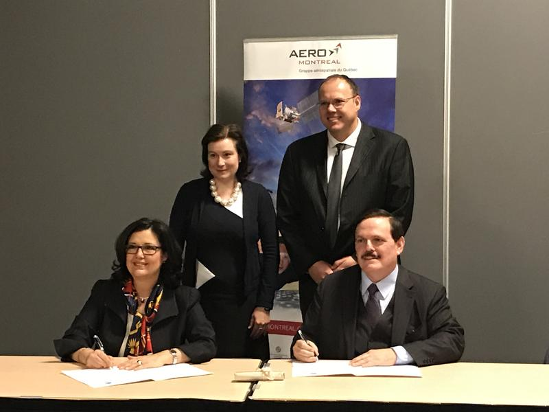 Plattsburgh Chamber & Aero Montreal sign agreement