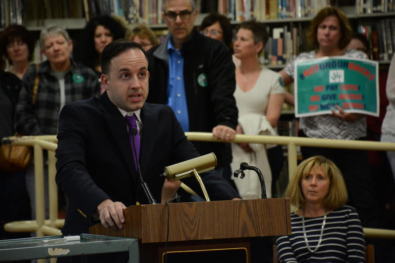 Matthew Gigliotti, a former student, says the city needs to take charge in caring for its youngest residents.