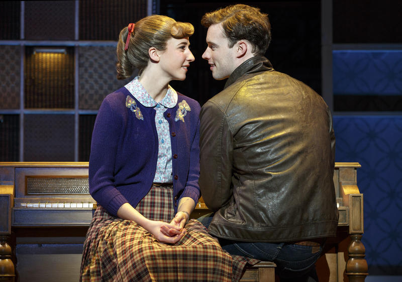 Beautiful – The Carole King Musical - Queens College. Julia Knitel 'Carole King' and Liam Tobin 'Gerry Goffin'