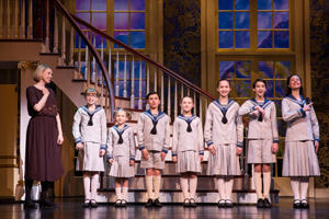 "A scene from ""Sound of Music"" at Proctors"