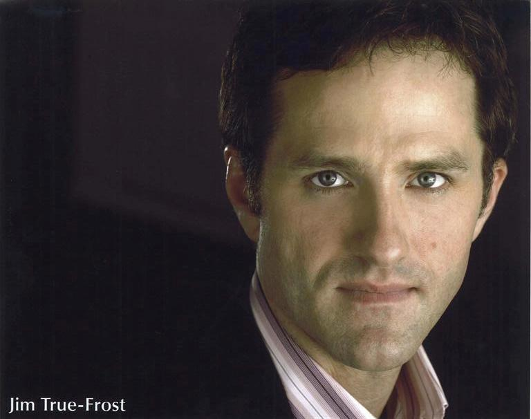 A headshot of actor Jim True-Frost
