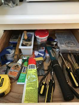Ralph Gardner's utility drawer