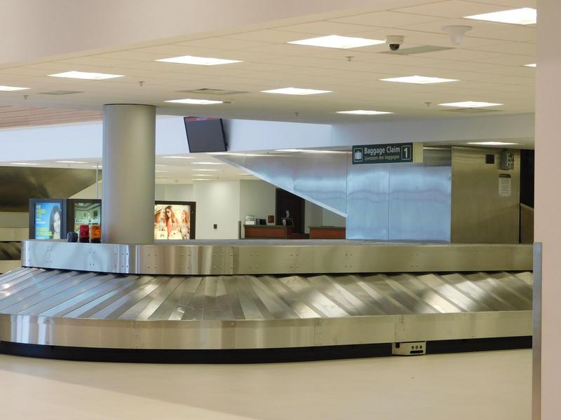 Plattsburgh International Airport new passenger baggage claim
