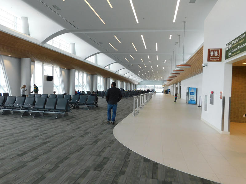 Plattsburgh International Airport new concourse