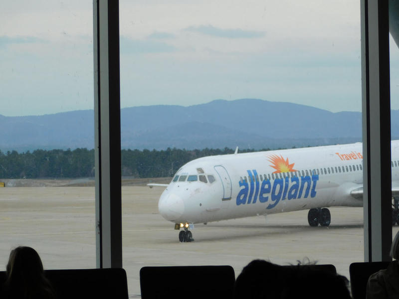 Flight arrives at Plattsburgh International Airport