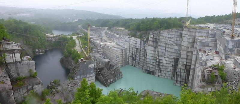 Rock of Ages granite quarry in Barre, Vermont