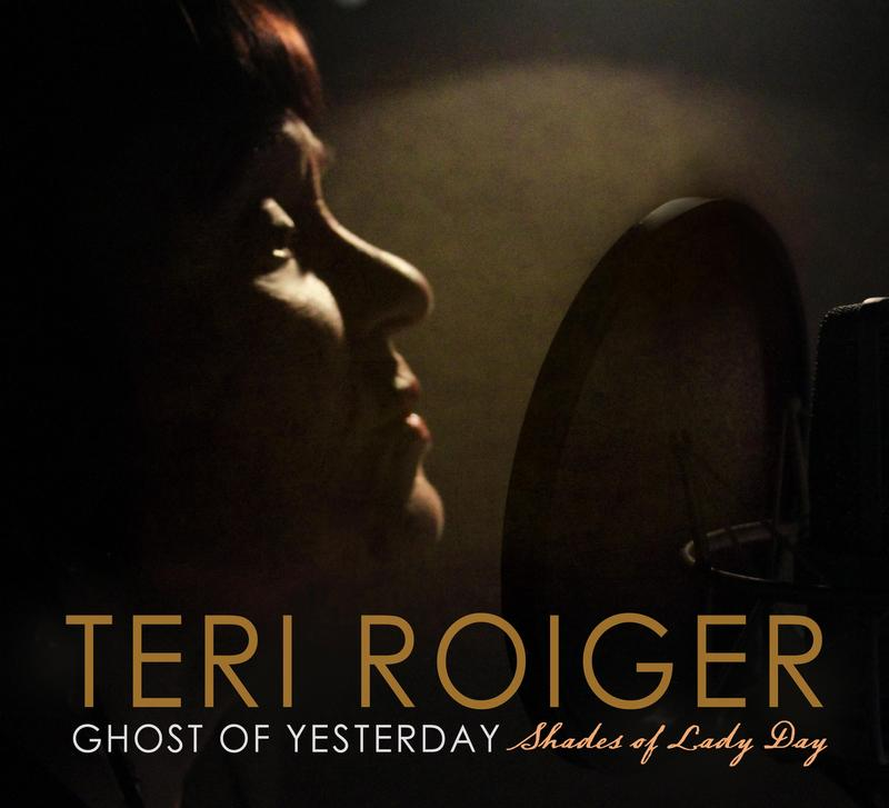 Album cover - Ghost of Yesterday: Shades of Lady Day