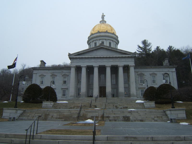 Vermont Statehouse Spring 2017