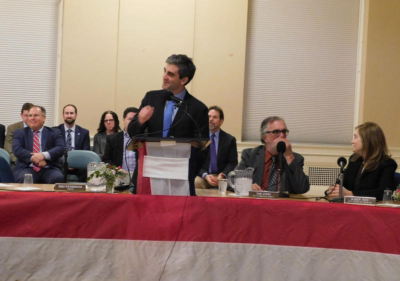 Burlington Mayor Miro Weinberger delivers State of the City address