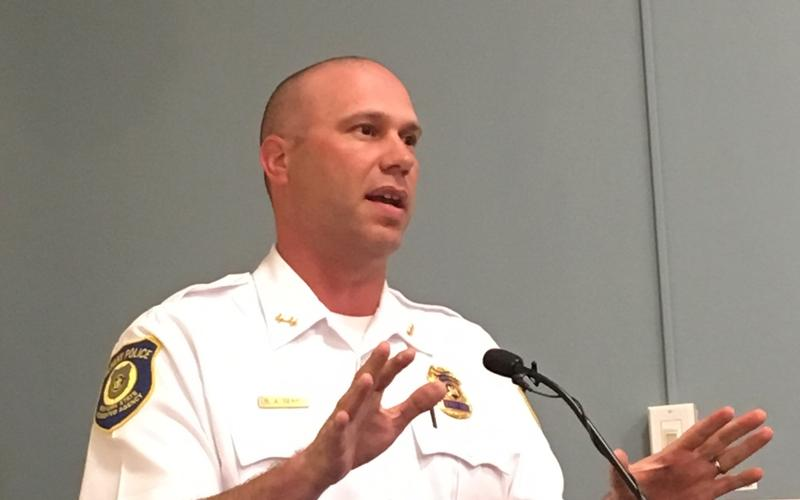 Acting Police Chief Robert Sears