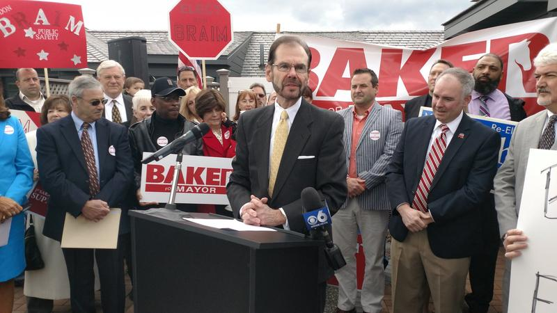 Mark Baker announces his run for mayor of Saratoga Springs
