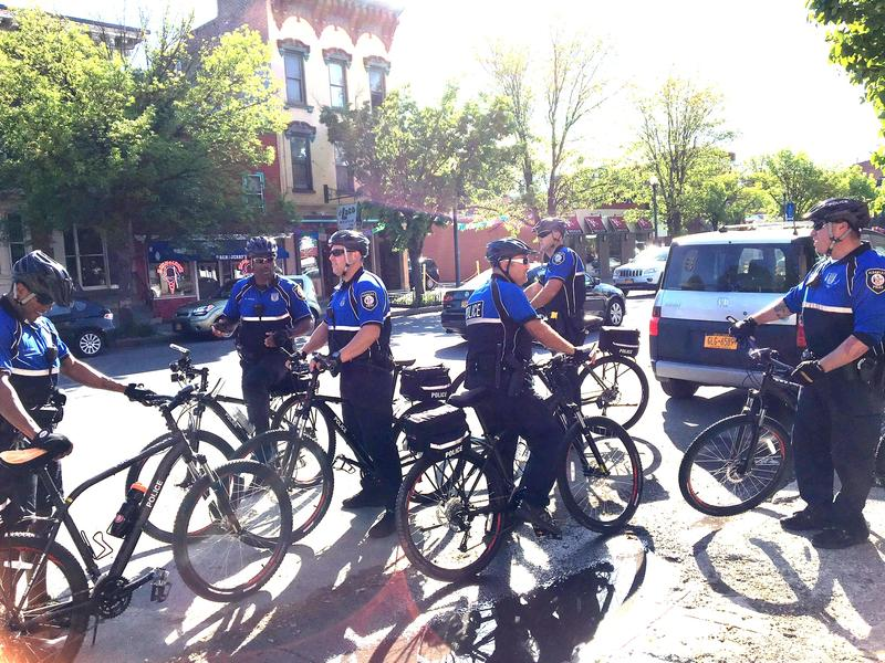 There are between 30-40 Albany police bikes in the fleet!