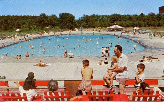 The Thacher Park pool - many hope it will someday be rebuilt.