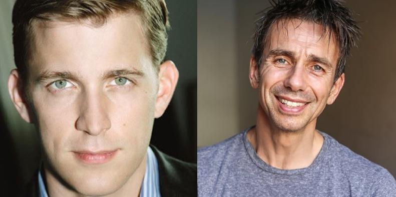 Benjamin Eakeley (Cliff) and Jon Peterson (Emcee)