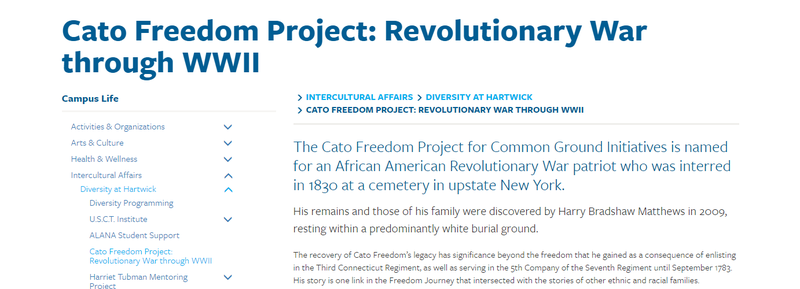 Cato Freedom Project screenshot