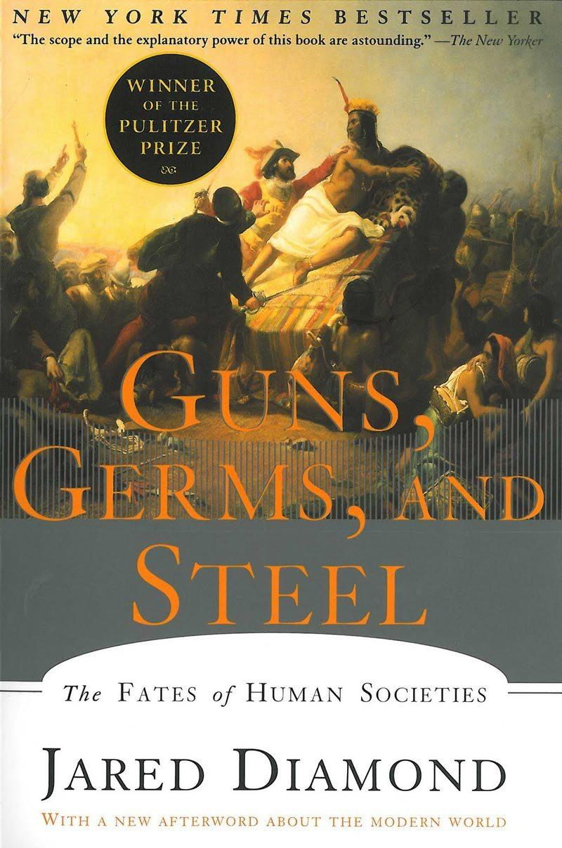 Book Cover - Guns, Germs, and Steel
