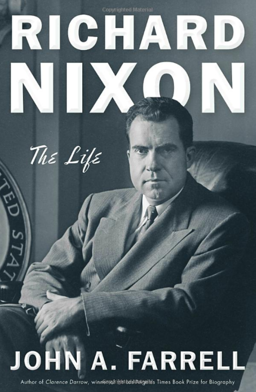 Book Cover - Nixon: The Life