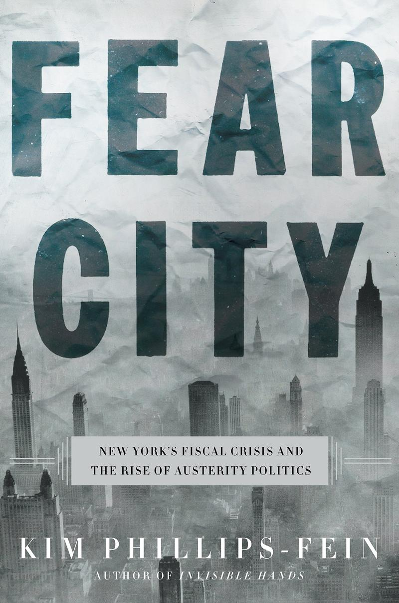 Book Cover - Fear City