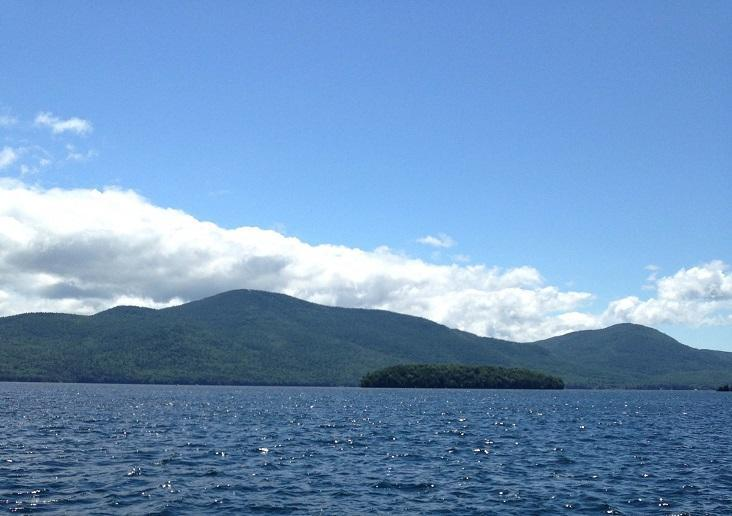 Lake George, the site of a fatal boat collision last summer.