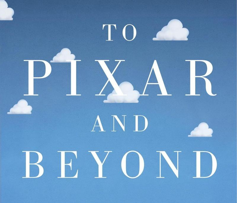 Book Cover - To Pixar and Beyond