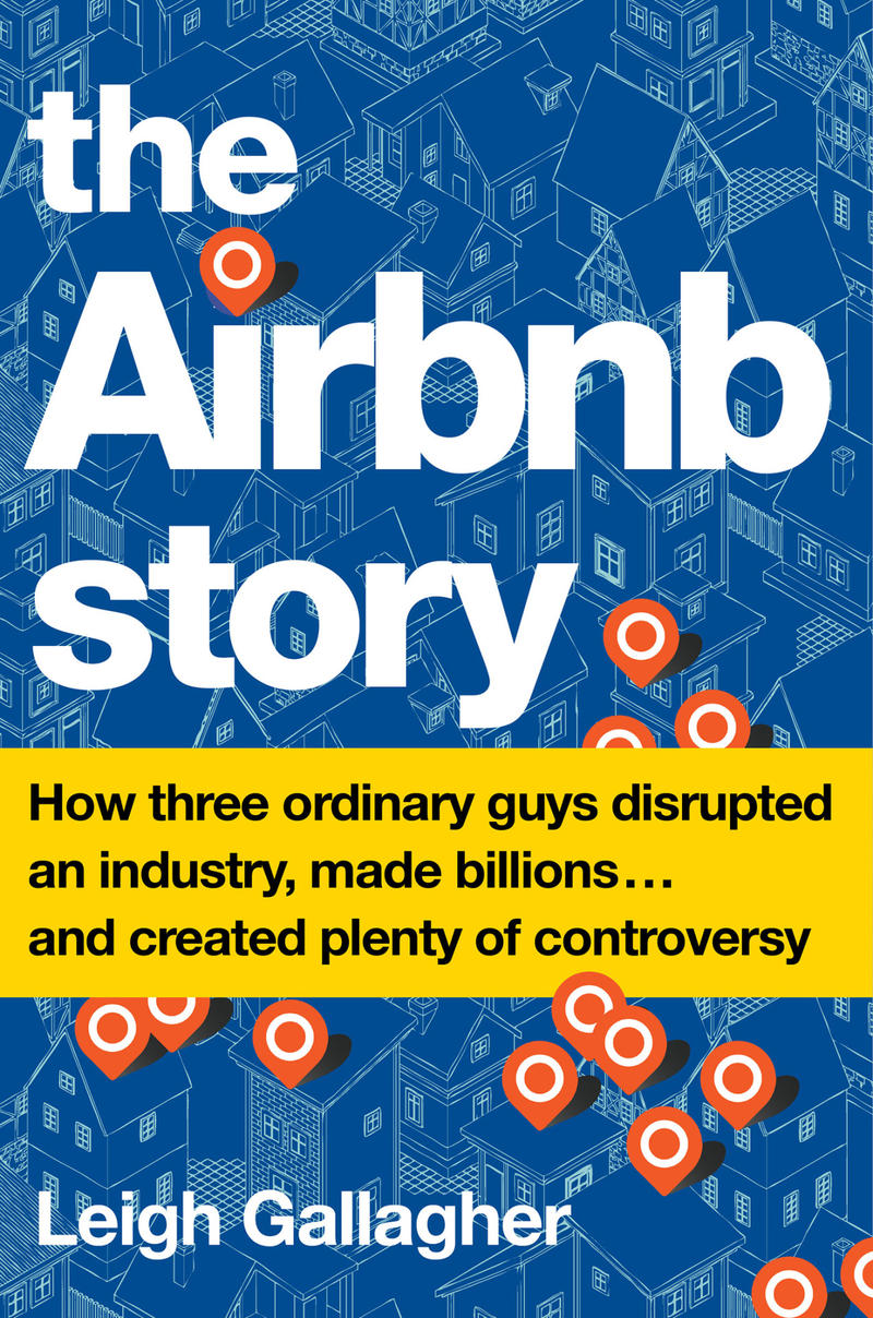 Book Cover - The Airbnb Story