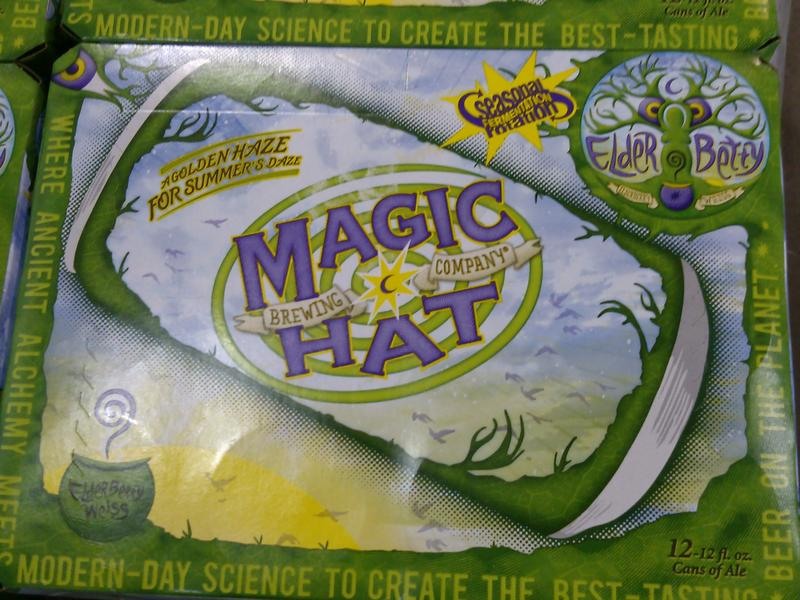 Magic hat beer case