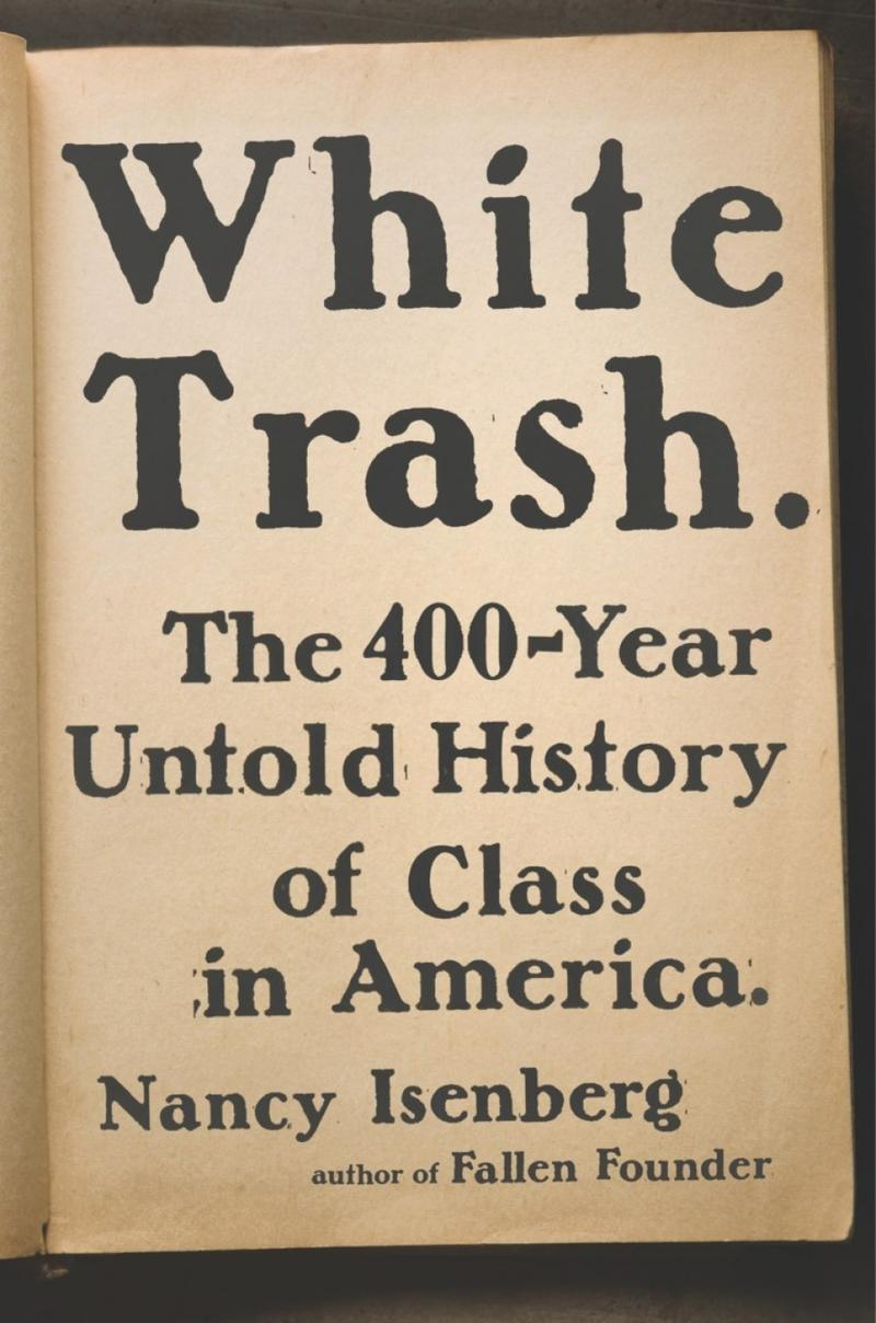 Book Cover - White Trash
