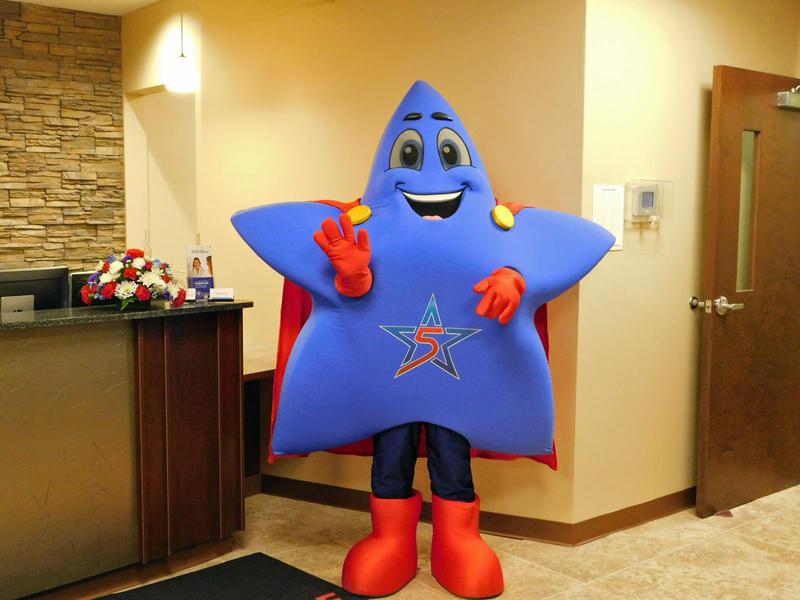 Remedy - Five Star Urgent Care's mascot
