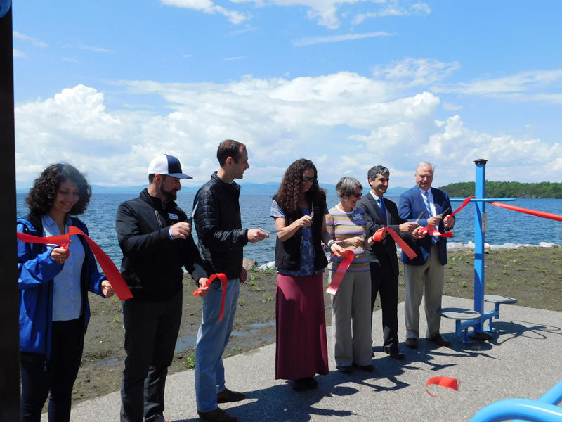Officials cut ribbon to celebrate completion of Phase 1 Completion of Bike Path