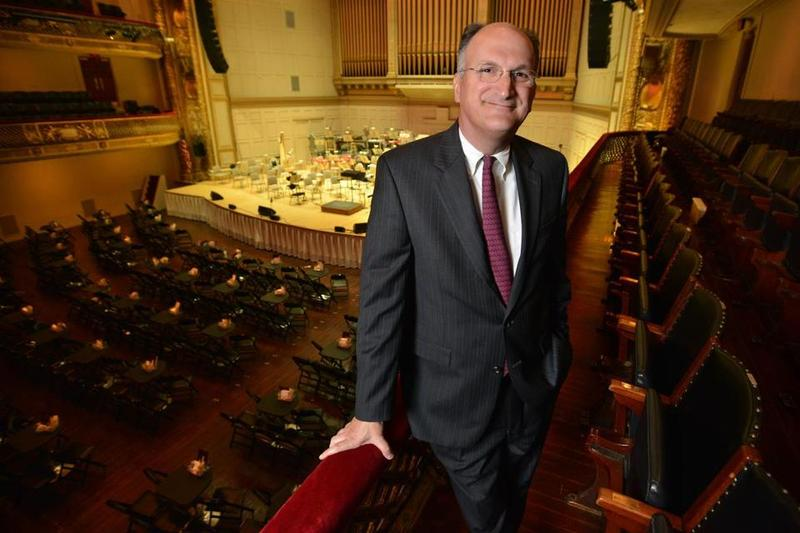 Mark Volpe, Managing Director of the Boston Symphony Orchestra