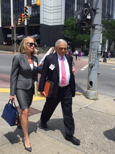 Carl Paladino heads to court on Thursday.