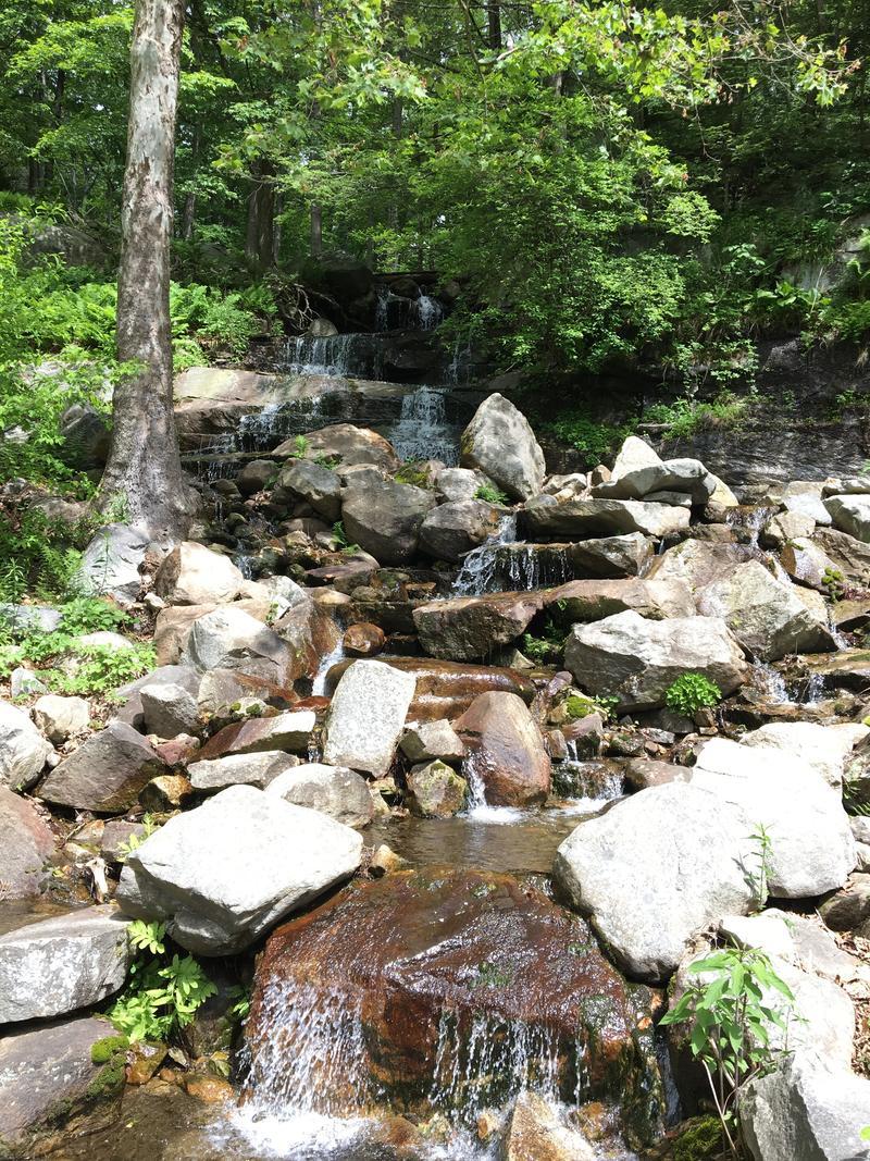 Waterfall at Manitoga