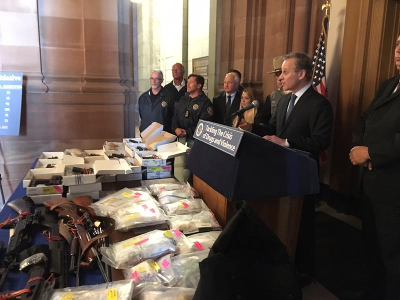 Operation Wrecking Ball Marks The Sixth Bust Since AG Announced Crackdown On Violent Drug Traffickers In Suburban And Upstate NY – Taking A Total Of 265 Dealers Off The Streets