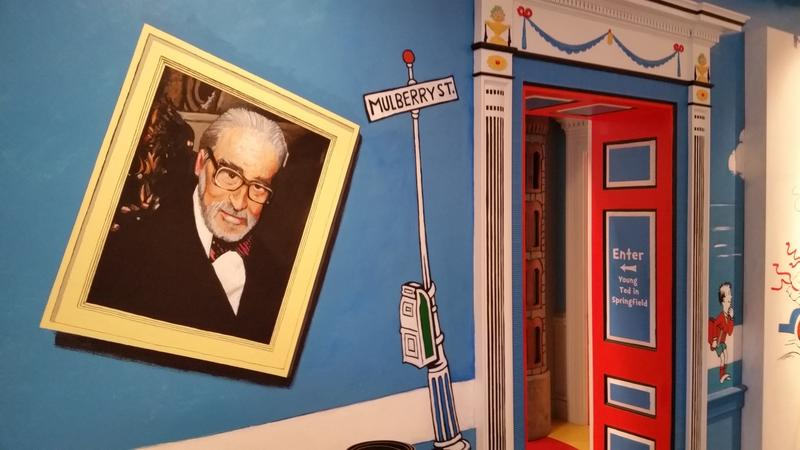 The life and works of Dr. Seuss, the pen name of Theodor Geisel, are celebrated at the Amazing World of Dr. Seuss Museum in Springfield, MA, the hometown of the children's book author and illustrator.