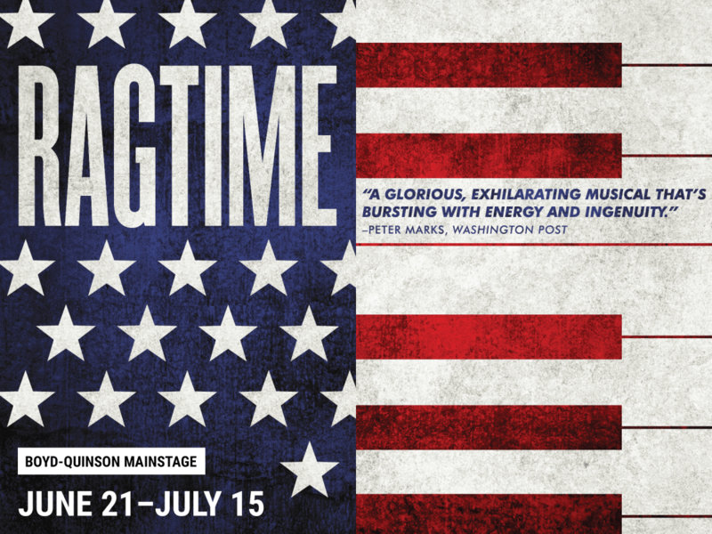 Artwork for Ragtime at Barrington Stage