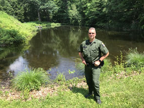 NYS Department of Environmental Conservation Officer Jeffrey Cox
