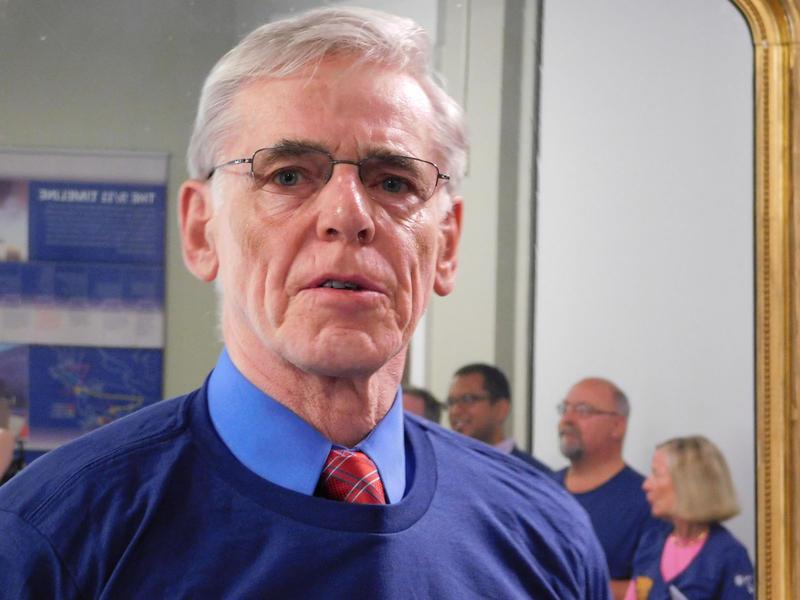 Mayor's Cup Race Director Kjell Dahlen