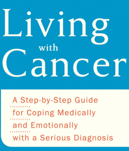 Book Cover - Living with Cancer
