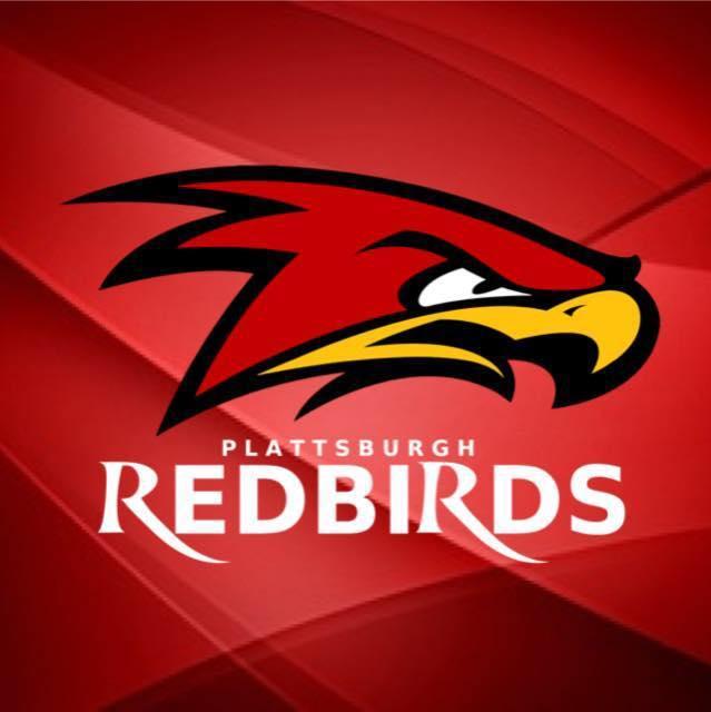 Plattsburgh RedBirds logo