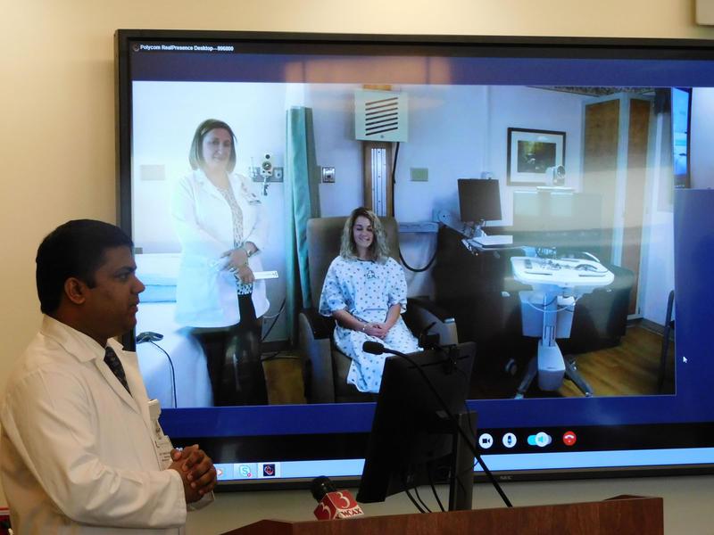 Telemedicine demonstration