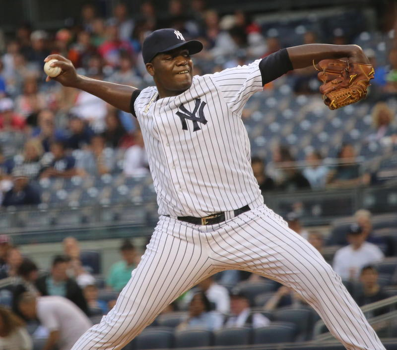 Yankees pitcher Michael Pineda