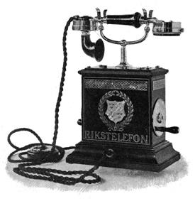 1896 Telephone from Sweden.