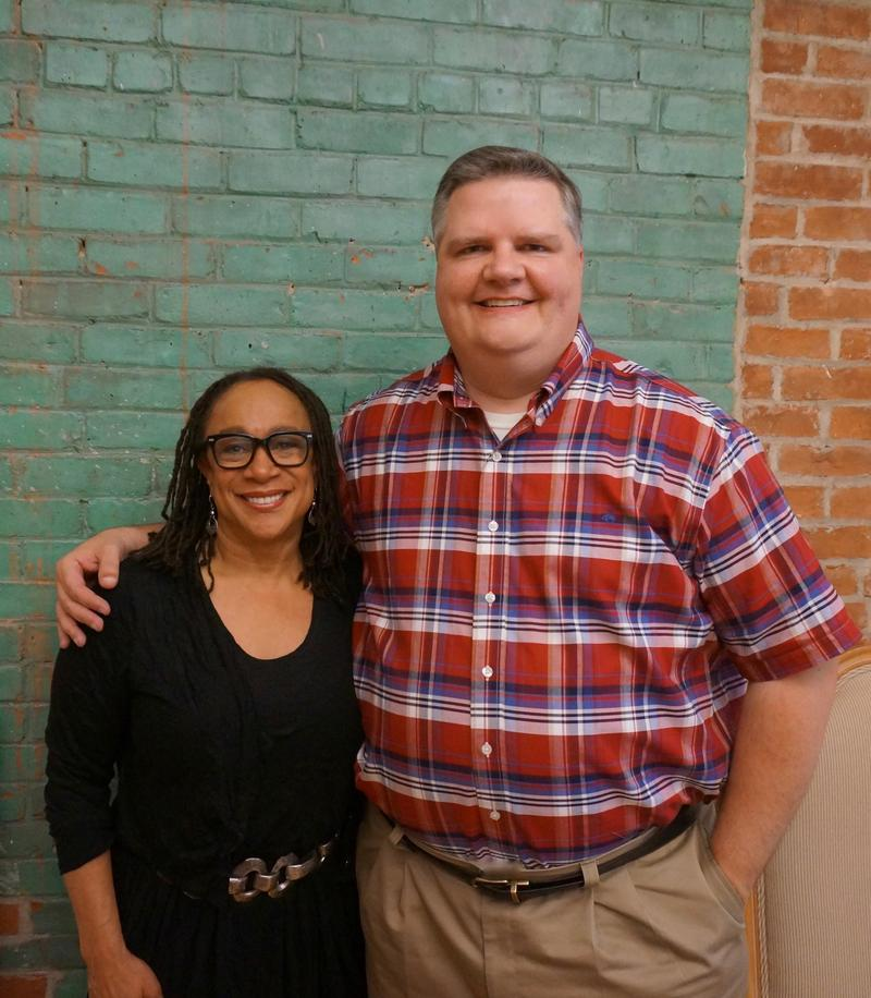 S. Epatha Merkerson and Joe Donahue