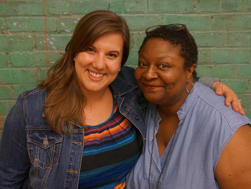 Sarah LaDuke and Myra Lucretia Taylor